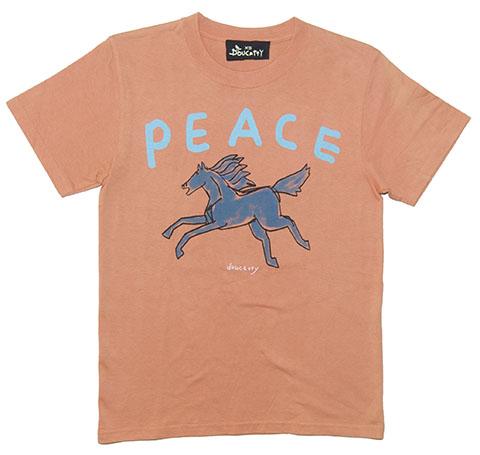 peace-horse-blue