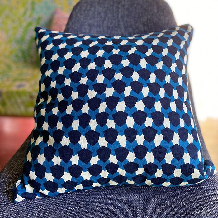 小六角のクッションカバー <br>Cushion Cover-syourokkaku<br>