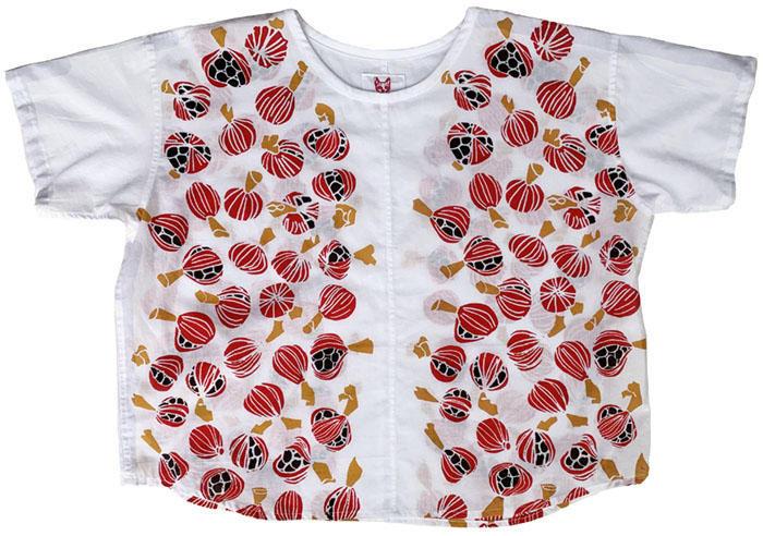 月桃の実のコットンシャツ<br />Cotton Shirts - gettounomi<br />