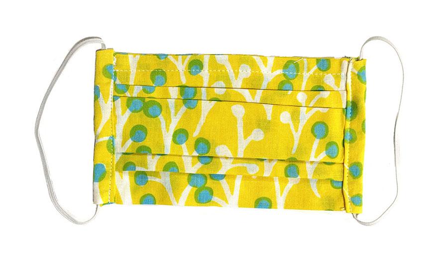 Doucattyのマスク 草の実 yellow