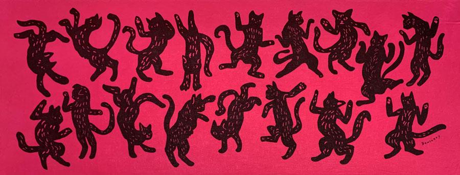 ダンス猫 passion pink<br />