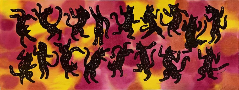 情熱のダンス猫