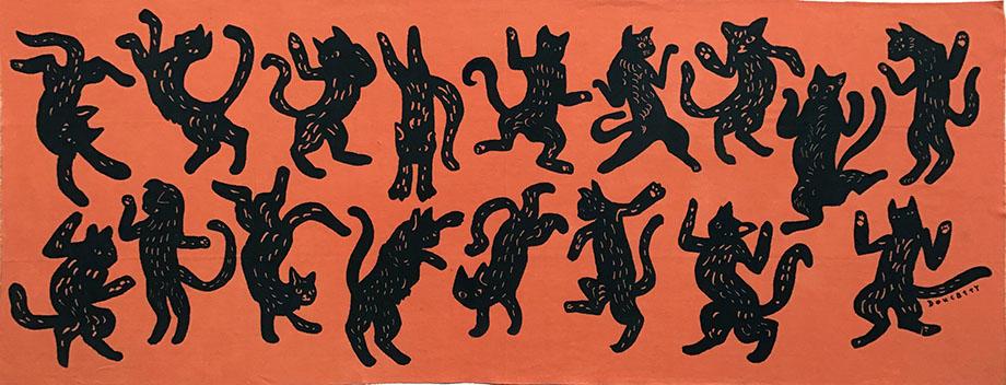 ダンス猫orange