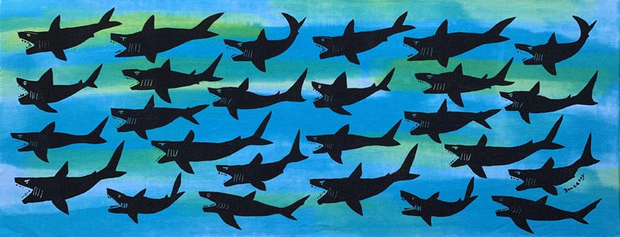 サメ Light blue